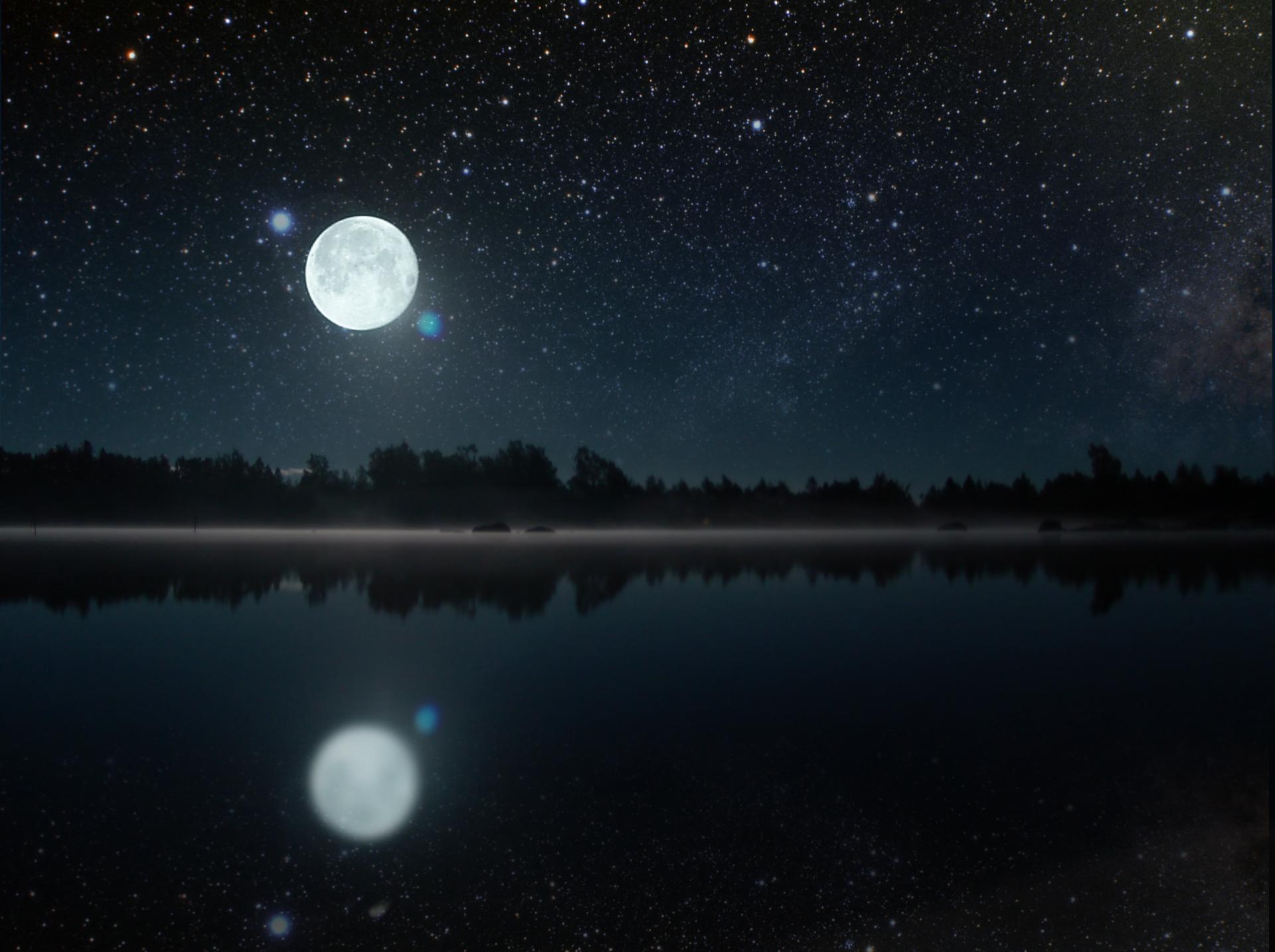 Nocny Księżyc